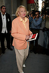 Liz Smith attending the Opening Night Performance of Terrence McNally's DEDICATION or THE STUFF OF DREAMS on August 18, 2005 at the Primary Stages at 59E59 Theaters in New York City.