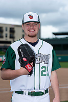 Fort Wayne TinCaps pitcher Ryan Weathers (25) poses for a photo before a Midwest League game against the Kane County Cougars at Parkview Field on May 1, 2019 in Fort Wayne, Indiana. (Zachary Lucy/Four Seam Images)
