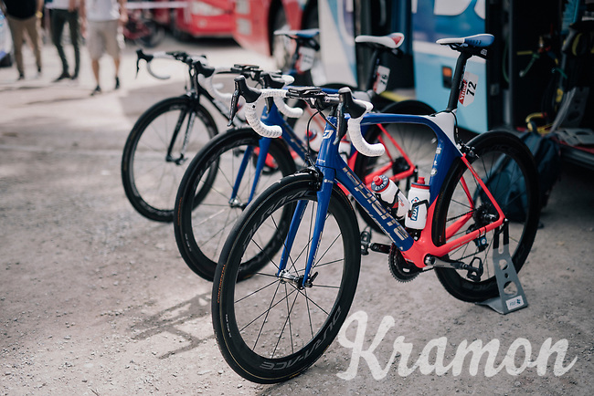 And then there were only 3...<br /> Team FDJ counting down.<br /> <br /> 104th Tour de France 2017<br /> Stage 19 - Embrun &rsaquo; Salon-de-Provence (220km)