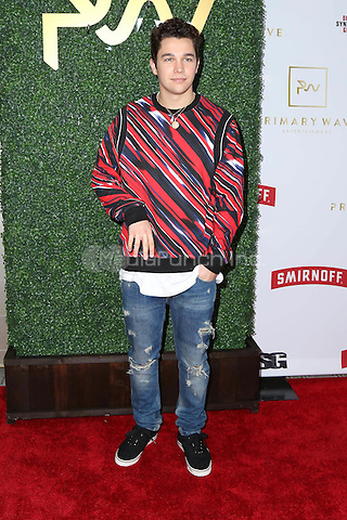 WEST HOLLYWOOD, CA - FEBRUARY 11: Austin Mahone at the Primary Wave 11th Annual Pre-GRAMMY Party at The London West Hollywood in West Hollywood, California on February 11, 2017. Credit: David Edwards/MediaPunch