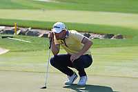 Bernd Wiesberger (AUT) on the 7th green during the Pro-Am of the Abu Dhabi HSBC Championship 2020 at the Abu Dhabi Golf Club, Abu Dhabi, United Arab Emirates. 15/01/2020<br /> Picture: Golffile | Thos Caffrey<br /> <br /> <br /> All photo usage must carry mandatory copyright credit (© Golffile | Thos Caffrey)