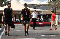 29th November 2019; Yas Marina Circuit, Abu Dhabi, United Arab Emirates; Formula 1 Abu Dhabi Grand Prix, practice day; Renault Sport F1 Team, Daniel Ricciardo - Editorial Use
