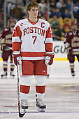 David Van der Gulik - The Boston University Terriers defeated the Boston College Eagles 2-1 in overtime in the March 18, 2006 Hockey East Final at the TD Banknorth Garden in Boston, MA.