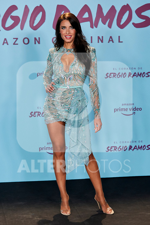 "Pilar Rubio attends to ""El Corazon De Sergio Ramos"" premiere at Reina Sofia Museum in Madrid, Spain. September 10, 2019. (ALTERPHOTOS/A. Perez Meca)"