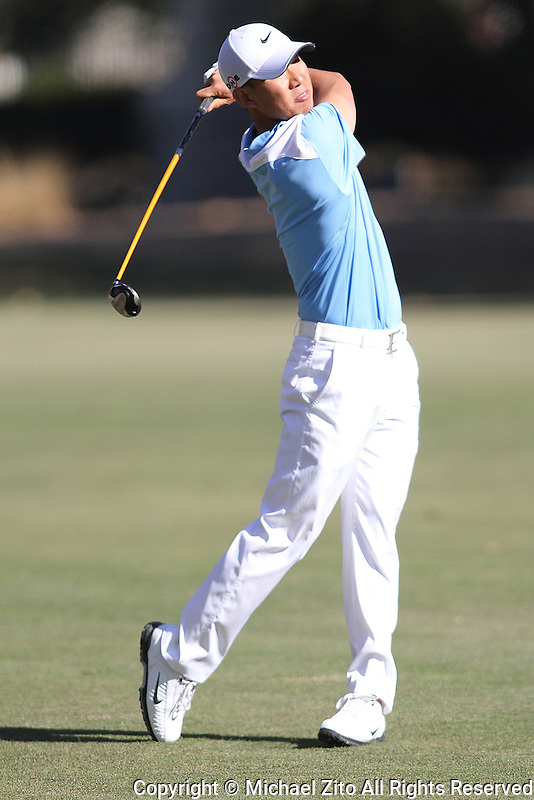 12/03/09 Thousand Oaks, CA: Anthony Kim during the 1st round of the Chevron World Challenge held at Sherwood Country Club to benefit the Tiger Woods Foundation.