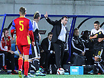 10.10.2015 Andorra. UEFA Europaen Championship Qualifying Round. Picture show Marc Wilmots in action during match Andorra v Belgium