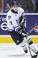 QMJHL (LHJMQ) hockey profile photo on Rimouski Oceanic Vladimir Bryukvin October 6, 2012 at the Colisee Pepsi in Quebec city.