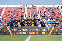 4th February 2020; National Stadium of Chile, Santiago, Chile; Libertadores Cup, Universidade de Chile versus Internacional; Players of Universidad de Chile poses for official photo before the match