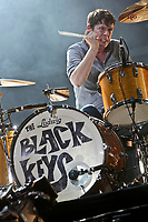 The Black Keys performs at the 44th Festival d'ete de Quebec on the Plains of Abraham in Quebec city Sunday July 10, 2011. The Festival d'ete de Quebec is Canada's largest music festival with more than 1000 artists and close to 400 shows over 11 days.