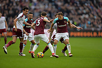 Mark Noble of West Ham during West Ham United vs Burnley, Premier League Football at The London Stadium on 10th March 2018