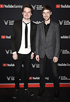 LOS ANGELES- DECEMBER 12: (L-R) Andrew Prahlow and Alex Beachum attend the Game Awards 2019 at the Microsoft Theater on December 12, 2019 in Los Angeles, California. (Photo by Scott Kirkland/PictureGroup)