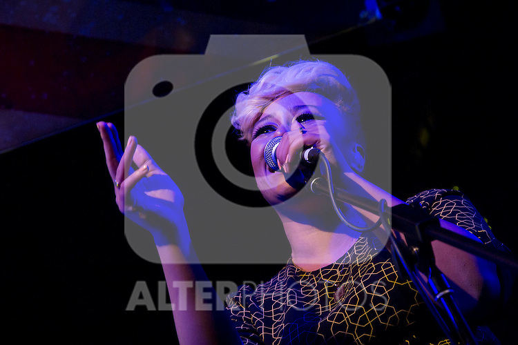 "The legendary ""Corral de la Pacheca"" Madrid is transformed, for the first time in 40-year history to receive three of the leading bands of rock and pop English: The Kooks, Emeli Sande and Baxter Dury.In the picture Emeli Sande..(Alterphotos/Marta Gonzalez)"