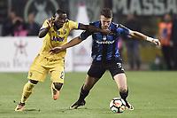 Bergamo 01-10-2017 Stadio Atleti Azzurri d'Italia Football Serie A 2017/2018 Atalanta - Juventus foto Daniele Buffa/Image Sport/Insidefoto <br /> nella foto: Kwedwo Asamoah-Hans Hateboer