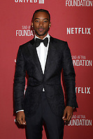 LOS ANGELES - NOV 9:  Algee Smith at the SAG-AFTRA Foundation's Patron of the Artists Awards 2017 at Wallis Annenberg Center for the Performing Arts on November 9, 2017 in Beverly Hills, CA