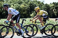 Yellow Jersey Julian Alaphilippe (FRA/Deceuninck Quick Step) <br /> <br /> Stage 4: Reims to Nancy (215km)<br /> 106th Tour de France 2019 (2.UWT)<br /> <br /> ©kramon