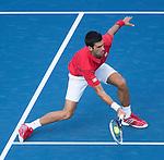 Novak Djokovic (SRB) Defeats Marcel Granollers (ESP) 6-3, 6-0, 6-0