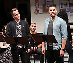 "Omer Shaish and Joel Perez ""Borders"" during the 2018 Presentation of New Works by the DGF Fellows on October 15, 2018 at the Playwrights Horizons Theatre in New York City."