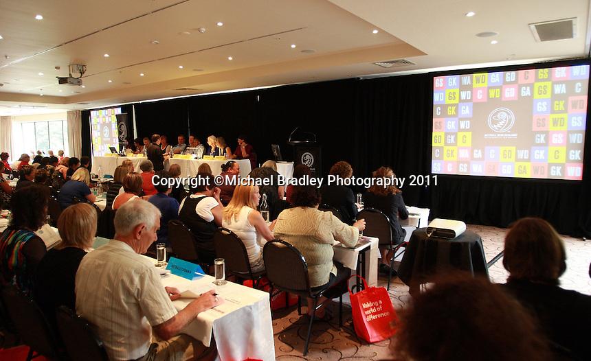 19.02.2011 The 2011 NNZ Council meeting in Christchurch New Zealand. Mandatory Photo Credit ©Michael Bradley.
