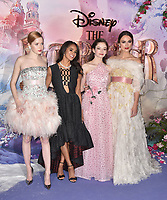 Ellie Bamber, Misty Copeland, Mackenzie Foy, Keira Knightley<br /> 'The Nutcracker and the Four Realms' European Film Premiere at Westfield, London, England  on November 01,  2018.<br /> CAP/PL<br /> &copy;Phil Loftus/Capital Pictures