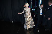Helen Mirren backstage during the live ABC Telecast of The 90th Oscars&reg; at the Dolby&reg; Theatre in Hollywood, CA on Sunday, March 4, 2018.<br /> *Editorial Use Only*<br /> CAP/PLF/AMPAS<br /> Supplied by Capital Pictures