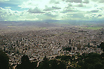 Bogota From Monserrate Hill