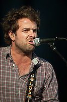 Dawes performing at Mumford and Sons 'The Gentlemen of the Road' stopover in Portland Maine.
