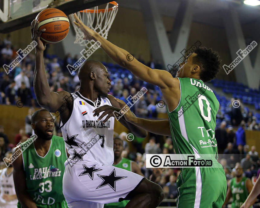 Basket masculin: U-BT Cluj - Elan Bearnais Pau-Lacq-Orthez 79-69 (32-39)