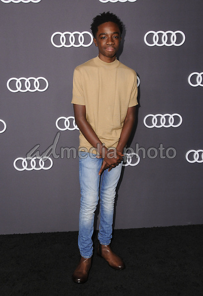 13 September  2017 - Hollywood, California - Caleb McLaughlin. Audi Celebrates the 69th Emmys held at The Highlight Room in Hollywood. Photo Credit: Birdie Thompson/AdMedia