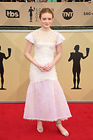 LOS ANGELES, CA - JANUARY 21:  Sadie Sink at The 24th Annual Screen Actors Guild Awards held at The Shrine Auditorium in Los Angeles, California on January 21, 2018. Credit: FSRetna/MediaPunch