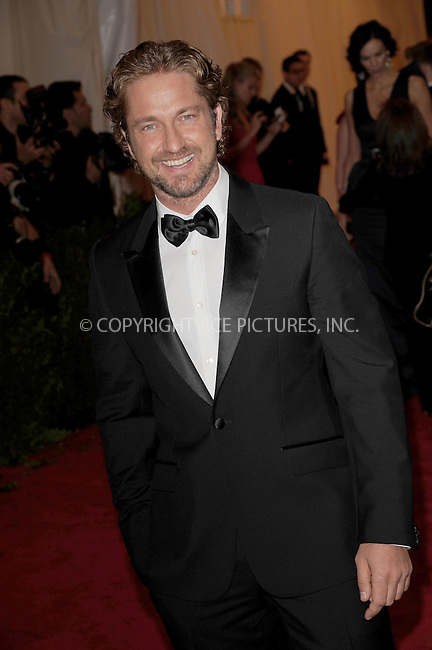 "WWW.ACEPIXS.COM . . . . . .May 7, 2012...New York City.....Gerard Butler attending the ""Schiaparelli and Prada: Impossible Conversations"" Costume Institute Gala at The Metropolitan Museum of Art in New York City on May 7, 2012  in New York City ....Please byline: KRISTIN CALLAHAN - ACEPIXS.COM.. . . . . . ..Ace Pictures, Inc: ..tel: (212) 243 8787 or (646) 769 0430..e-mail: info@acepixs.com..web: http://www.acepixs.com ."
