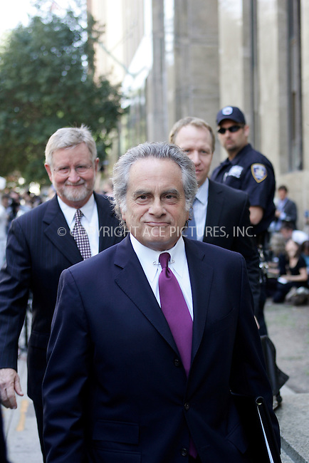 WWW.ACEPIXS.COM . . . . .  ....July 1 2011, New York City.... IMF Chief Dominique Strauss-Kahn's attorneys William Taylor III (L) and Benjamin Brafman spoke to the medias after Strauss-Khan was released on his own recognizance on July 1, 2011 in New York City. ....Please byline: CURTIS MEANS - ACE PICTURES.... *** ***..Ace Pictures, Inc:  ..Philip Vaughan (212) 243-8787 or (646) 679 0430..e-mail: info@acepixs.com..web: http://www.acepixs.com