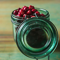 Amérique,Amérique du Nord, Canada: Canneberge ou   Grande airelle rouge d'Amérique du Nord // America, North America, Canada: Cranberry - Stylisme : Valérie LHOMME