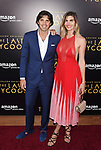 HOLLYWOOD, CA - JULY 27:  Argentina Polo player Ignacio 'Nacho' Figueras (L) and wife Delfina Blaquier arrive at the Premiere Of Amazon Studios' 'The Last Tycoon' at the Harmony Gold Preview House and Theater on July 27, 2017 in Hollywood, California.