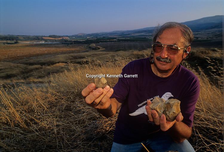 Ubeidiiya, Israel, Rift Valley, Homo Erectus, Acheulean, 1.5 million years, hand axes, Eitan Tchernov