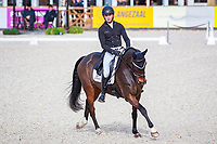 NZL-Dan Jocelyn rides Grovine de Reve during the Second Day of Dressage. Interim-28th. 2017 NED-Military Boekelo CCIO3* FEI Nation Cup Eventing. Friday 6 October. Copyright Photo: Libby Law Photography