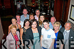 Sharon Howard, Fountain Court, Tralee (front centre) enjoying a night out with family and friends in the Grand hotel, Tralee last Saturday as she is about to emigrate to Perth, Australia.