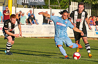 Bolton Wanderers' Liam Arnsalam shoots at goal<br /> <br /> Photographer Alex Dodd/CameraSport<br /> <br /> Football Pre-Season Friendly - Atherton Collieries v Bolton Wanderers - Tuesday 10th July 2018 - Alder House - Atherton<br /> <br /> World Copyright &copy; 2018 CameraSport. All rights reserved. 43 Linden Ave. Countesthorpe. Leicester. England. LE8 5PG - Tel: +44 (0) 116 277 4147 - admin@camerasport.com - www.camerasport.com