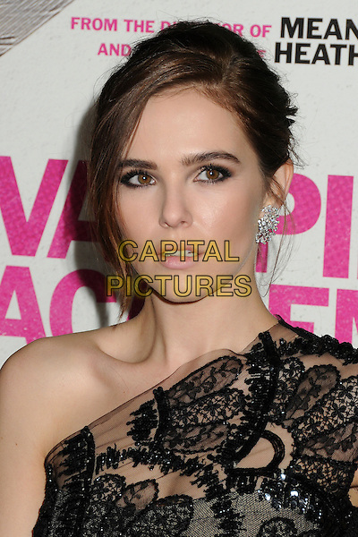 4 February 2014 - Los Angeles, California - Zoey Deutch. &quot;Vampire Academy&quot; Los Angeles Premiere held at Regal Cinemas L.A. Live. <br /> CAP/ADM/BP<br /> &copy;Byron Purvis/AdMedia/Capital Pictures