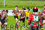 Newport 's Niall Keegan in  Action at  O'Dowd Park on Sunday Tralee against  Newport