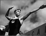USA Olympic Preview 2004: Natalie COUGHLIN, 21, Swiming (100-m freestyle, 100-m backstroke, relays), Concord, California, May 2004.<br /> <br /> 2004 &copy; David BURNETT (CONTACT PRESS IMAGES)