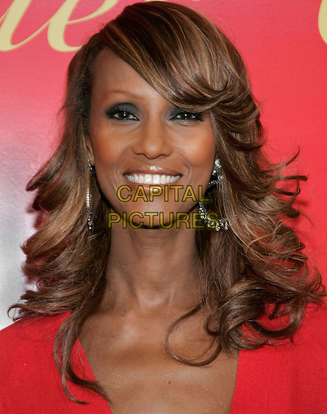 IMAN.at the Cartier Charity Love Bracelet Party - Red Carpet Arrivals, New York City, NY, USA, 8 June 2006..portrait headshot.Ref: ADM/JL.www.capitalpictures.com.sales@capitalpictures.com.©Jackson Lee/AdMedia/Capital Pictures.