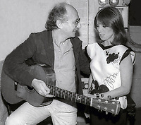 Peter Yarrow and Marlo Thomas 1985<br /> Photo By Adam Scull/PHOTOlink.net