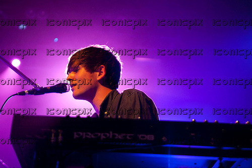 James Blake - aka Harmonix - performing live at Heaven in London UK - 0 Apr 2013.  Photo credit: Tim Boddy/Music Pics Ltd/IconicPix