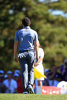 Rory McIlroy (Team Europe) during Sunday Singles matches at the Ryder Cup, Hazeltine National Golf Club, Chaska, Minnesota, USA. 02/10/2016<br /> Picture: Golffile   Fran Caffrey<br /> <br /> <br /> All photo usage must carry mandatory copyright credit (&copy; Golffile   Fran Caffrey)