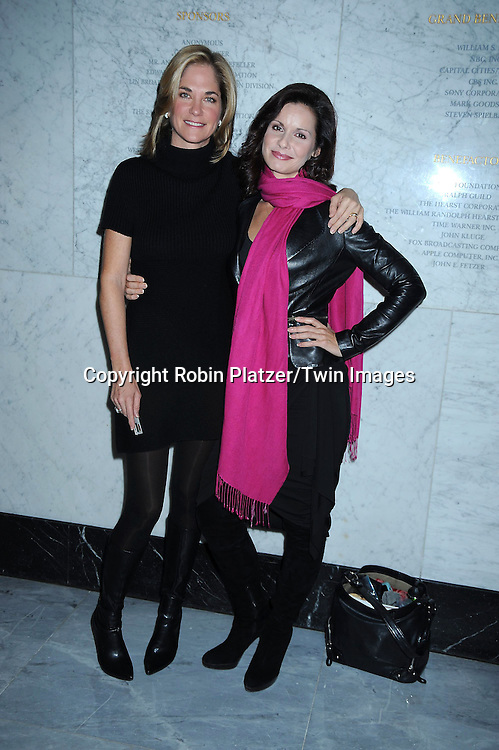 Kassie DePaiva and Florencia Lozano at the Conversation with the cast of One Life to Live at the Paley Center for .Media by SAG on November 2, 2010 in New York City. .Photo by Robin Platzer/ Twin Images