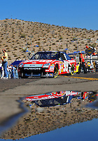 Nov. 7, 2008; Avondale, AZ, USA; NASCAR Sprint Cup Series driver Carl Edwards during practice for the Checker Auto Parts 500 at Phoenix International Raceway. Mandatory Credit: Mark J. Rebilas-