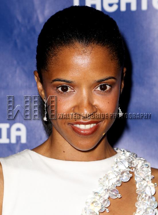 Renee Elise Goldsberry attends the 2015 Drama Desk Awards at Town Hall on May 31, 2015 in New York City.