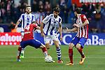 Real Sociedad´s Xabi Prieto during 2015-16 La Liga match between Atletico de Madrid and Real Sociedad at Vicente Calderon stadium in Madrid, Spain. March 01, 2016. (ALTERPHOTOS/Victor Blanco)