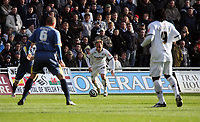 Pictured: Thomas Butler of Swansea City in action <br /> Re: Coca Cola Championship, Swansea City FC v Cardiff City at the Liberty Stadium. Swansea, south Wales, Sunday 30 November 2008.<br /> Picture by D Legakis Photography / Athena Picture Agency, Swansea 07815441513