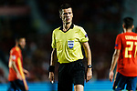 FIFA Referee Benoit Bastien of France during their UEFA Nations League 2018-19 match between Spain and Croatia at Manuel Martínez Valero on September 11 2018 in Elche, Spain. Photo by Diego Souto / Power Sport Images